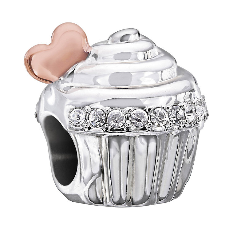 Chamilia Love Is Sweet two colour Swarovski crystal charm - Product number 1605062
