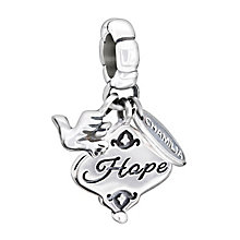 Chamilia sterling silver Her Gift Of Hope bead - Product number 1605100