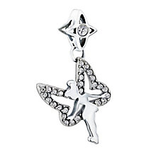 Chamilia sterling silver crystal Disney Tinkerbell bead - Product number 1605127