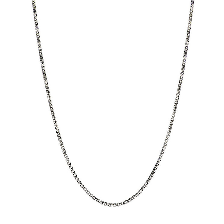 Chamilia sterling silver Venetian box chain necklace - Product number 1605232
