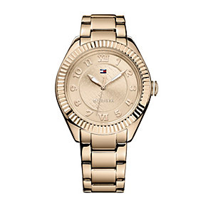 Tommy Hilfiger Ladies' Rose Gold-Plated Bracelet Watch - Product number 1605844