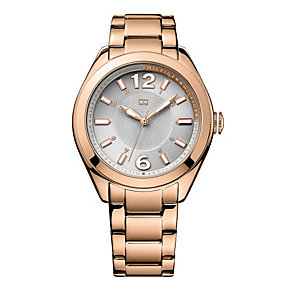 Tommy Hilfiger Ladies' Rose Gold-Plated Bracelet Watch - Product number 1605860