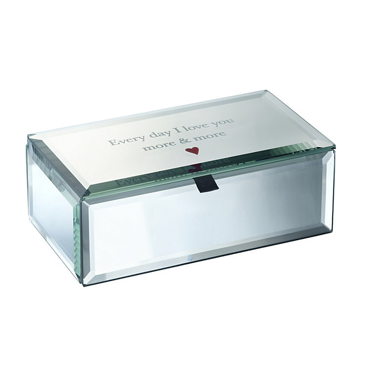 Valentines Glass Box - Product number 1607693