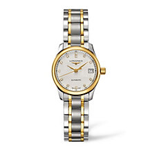 Longines Master Collection ladies' two colour bracelet watch - Product number 1607855
