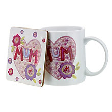 Mum Mug & Coaster - Product number 1608355