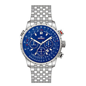 Rotary Aquaspeed Men's Stainless Steel Bracelet Watch - Product number 1609025
