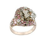 Brumani 18ct white & rose gold diamond ring - Product number 1609459