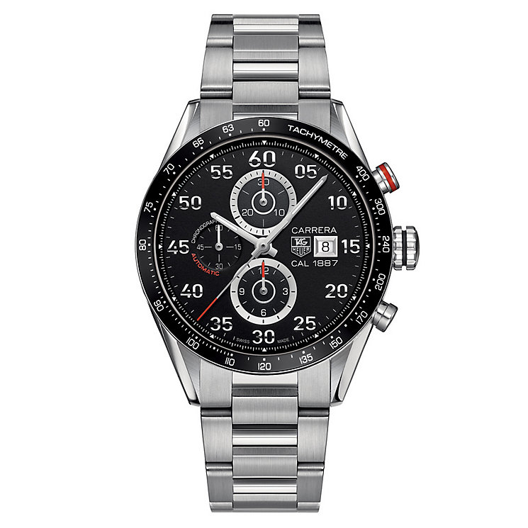 TAG Heuer Carrera men's stainless steel bracelet watch - Product number 1616323