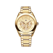 Tommy Hilfiger ladies' gold-plated bracelet watch - Product number 1619233