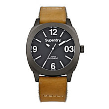 Superdry Thor Midi Ladies' Tan Leather Strap Watch - Product number 1620444