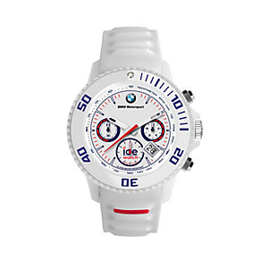Ice Watch BMW Motorsport Men's White Silicone Strap Watch - Product number 1621769
