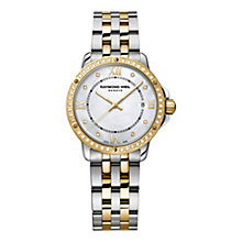 Raymond Weil ladies' two colour stone set bracelet watch - Product number 1621807