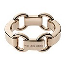 Michael Kors rose gold-plated chunky logo bracelet - Product number 1624504