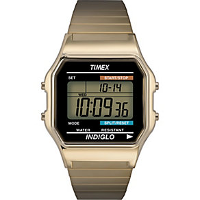 Timex Retro Men's Digital Expander Bracelet Watch - Product number 1624725