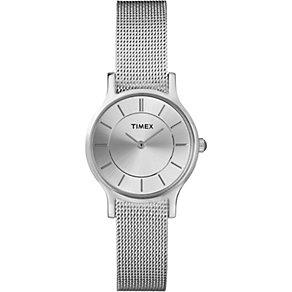 Timex Ladies' Stainless Steel Mesh Bracelet Watch - Product number 1624946