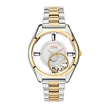 STORM Zazi Ladies' Two Colour Stainless Steel Bracelet Watch - Product number 1626019