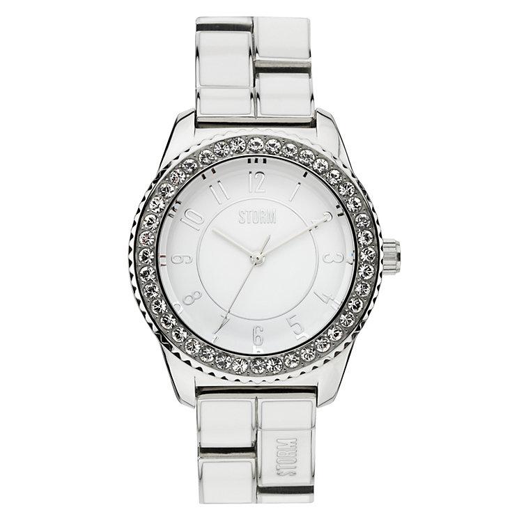 STORM Neona Ladies' Stainless Steel & Enamel Bracelet Watch - Product number 1630431