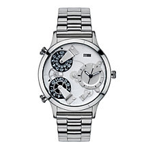 STORM Trion Men's Multi Dial Stainless Steel Bracelet Watch - Product number 1630644