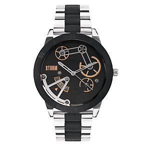 STORM Mexo Men's Stainless Steel & Textured Bracelet Watch - Product number 1630679