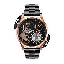 STORM Dualon Men's Black Stainless Steel Bracelet Watch - Product number 1630822