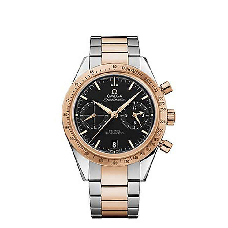 Omega Speedmaster '57 men's stainless steel bracelet watch - Product number 1631101
