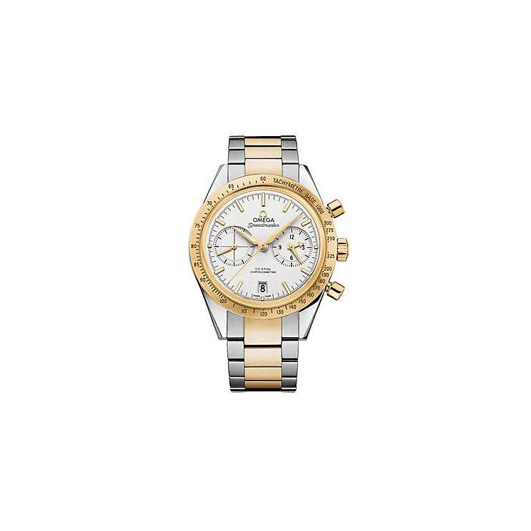 Omega Speedmaster '57 men's two colour bracelet watch - Product number 1631128
