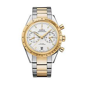Omega Speedmaster men's two colour bracelet watch - Product number 1631128