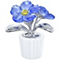 Swarovski Crystal Forget-Me-Not - Product number 1635948