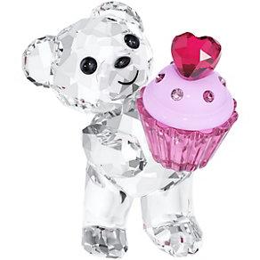 Swarovski Crystal Kris Bear Pink Cupcake - Product number 1636006