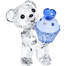 Swarovski Crystal Kris Bear Blue Cupcake - Product number 1636030