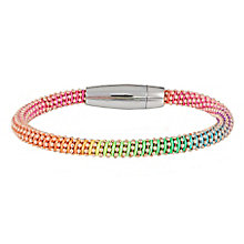 Gaia Dreams Sterling Silver Multi Coloured Neon Bracelet - Product number 1637274