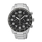 Seiko Solar men's chronograph stainless steel bracelet watch - Product number 1637711