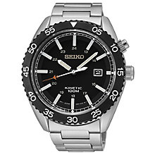 Seiko Kinetic men's stainless steel bracelet watch - Product number 1637770