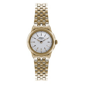 Rotary Ladies' Rose Gold-Plated Bracelet Watch - Product number 1638688