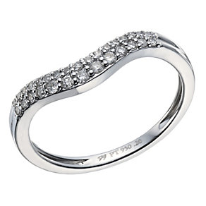 Platinum 20 point diamond shaped ring - Product number 1643363