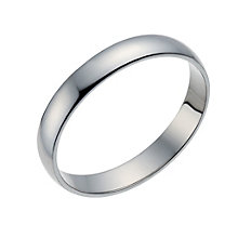Palladium 500 3mm Extra Heavy D Shape Ring - Product number 1658646