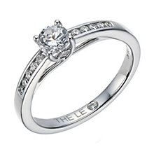 Leo Diamond 18ct white gold 0.40ct I-I1 solitaire ring - Product number 1660136