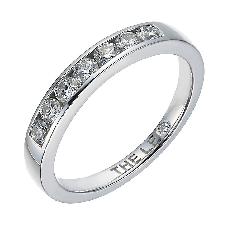 Leo Diamond 18ct white gold 0.33ct I-I1 eternity ring - Product number 1660268