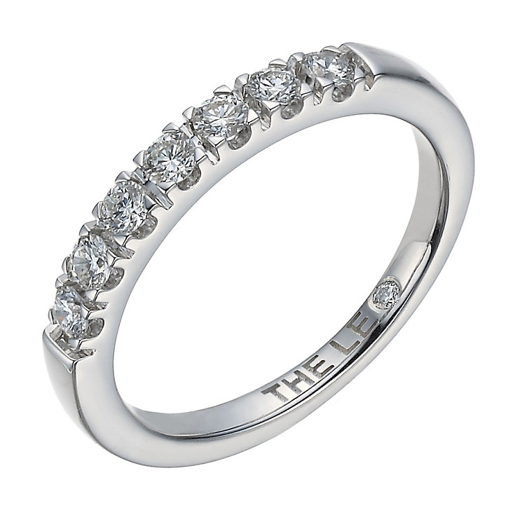 Leo Diamond 18ct white gold 0.33ct I-I1 eternity ring - Product number 1660403
