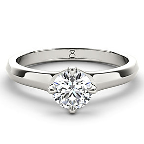The Diamond Story 18ct White Gold 1/4 carat diamond ring - Product number 1660578