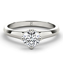 The Diamond Story 18ct White Gold 1/3 carat diamond ring - Product number 1660799
