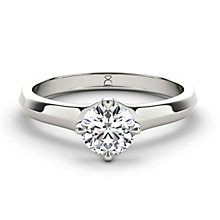 The Diamond Story 18ct White Gold 1/2 carat diamond ring - Product number 1660942