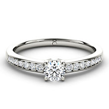 The Diamond Story 18ct White Gold 0.50ct diamond ring - Product number 1661205