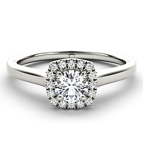 The Diamond Story 18ct white gold 1/3 carat diamond ring - Product number 1661639