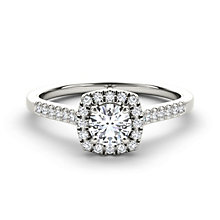 The Diamond Story 18ct White Gold 2/3 carat diamond ring - Product number 1661833