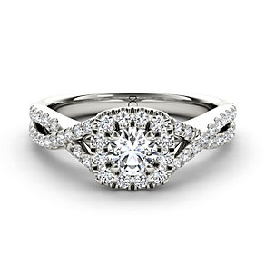 The Diamond Story 18ct white gold 3/4 carat diamond ring - Product number 1662260