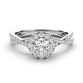 The Diamond Story 18ct white gold 3/4 carat diamond ring - Product number 1662503
