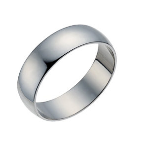 Palladium 500 7mm Extra Heavy D Shape Ring - Product number 1663577