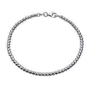 Sterling silver bead bracelet - Product number 1664077