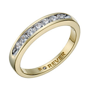 The Forever Diamond 18ct Gold 35 Point Diamond Eternity Ring - Product number 1679112